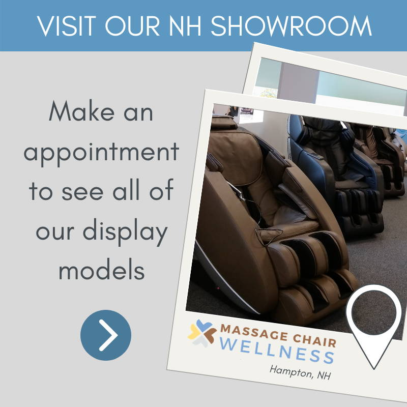Massage Chair Wellness Showroom