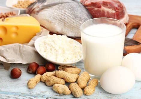 BCAA in Lebensmitteln