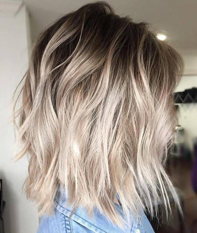 Pixie With Cool-Toned Blond Balayage