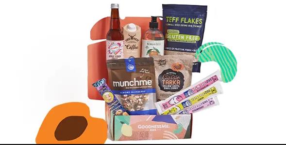 GoodnessMe Vegan Subscription Box