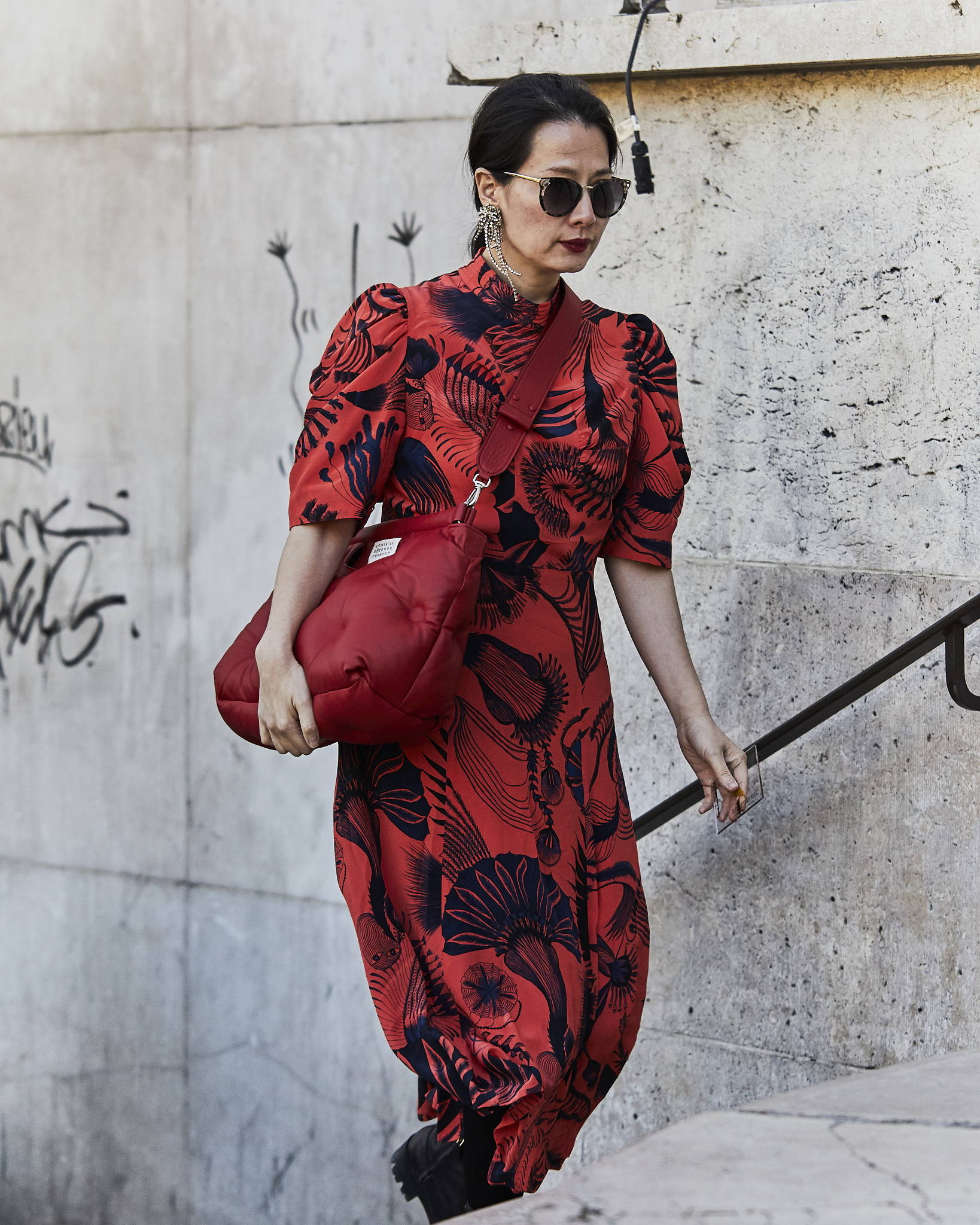Street Style Paris Fashion Week SS19 Dries Van Noten