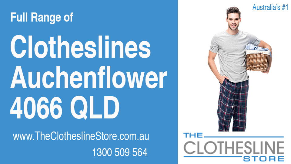 New Clotheslines in Auchenflower Queensland 4066