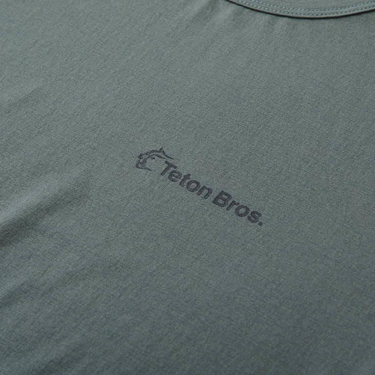 Teton Bros.(ティートンブロス)/ベイパー ロングスリーブ/グレー/MENS