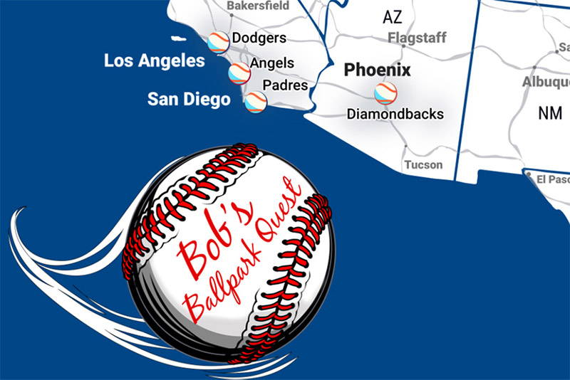 Sports Maps: Baseball Stadium Map – GeoJango Maps