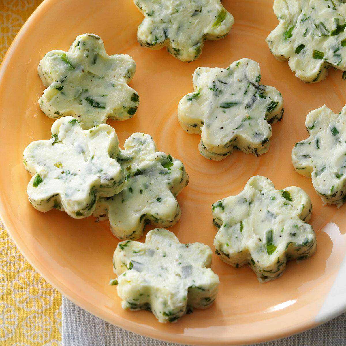 Fresh Herb Infused Butter Stars