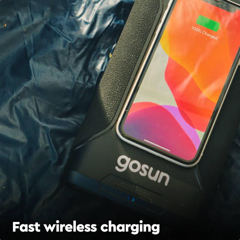 Charge anywhere.