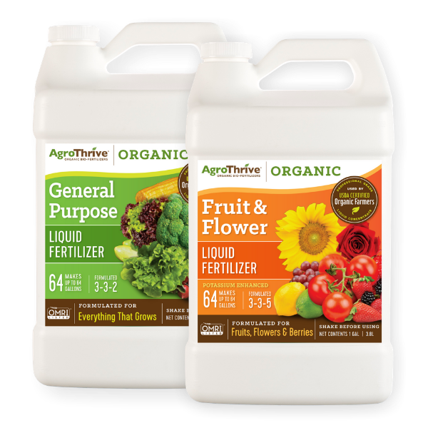 AgroThrive Organic Liquid Fertilizer | Fast Acting