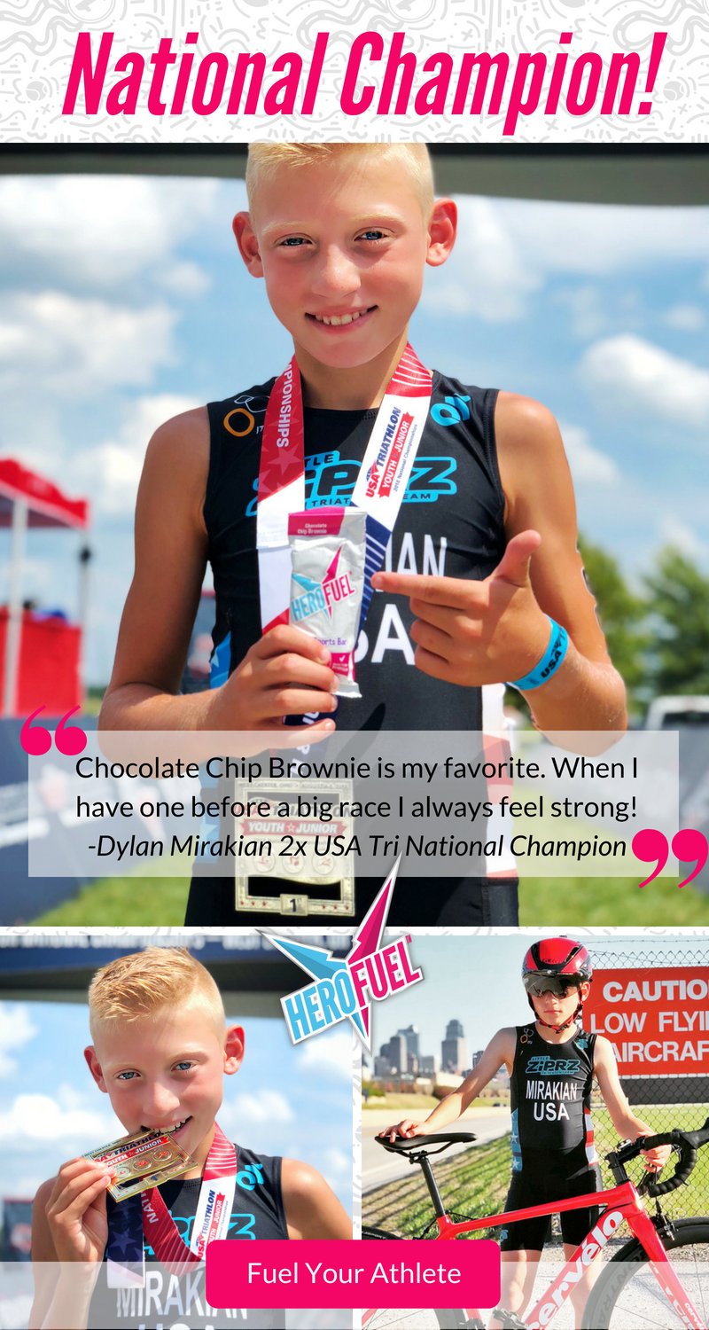 Dylan Mirakian, Herofuel athlete and National Champ!