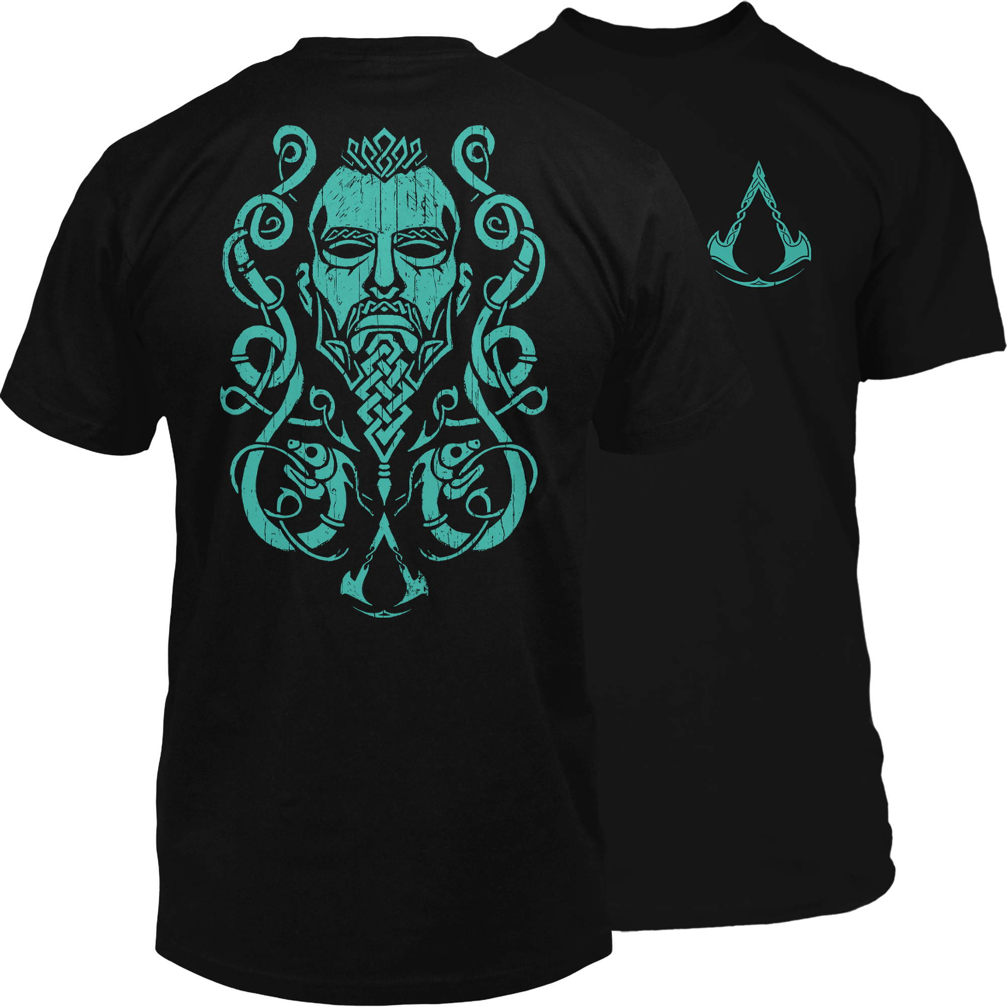 Product image of the Assassin's Creed Valhalla Warrior Premium Tee