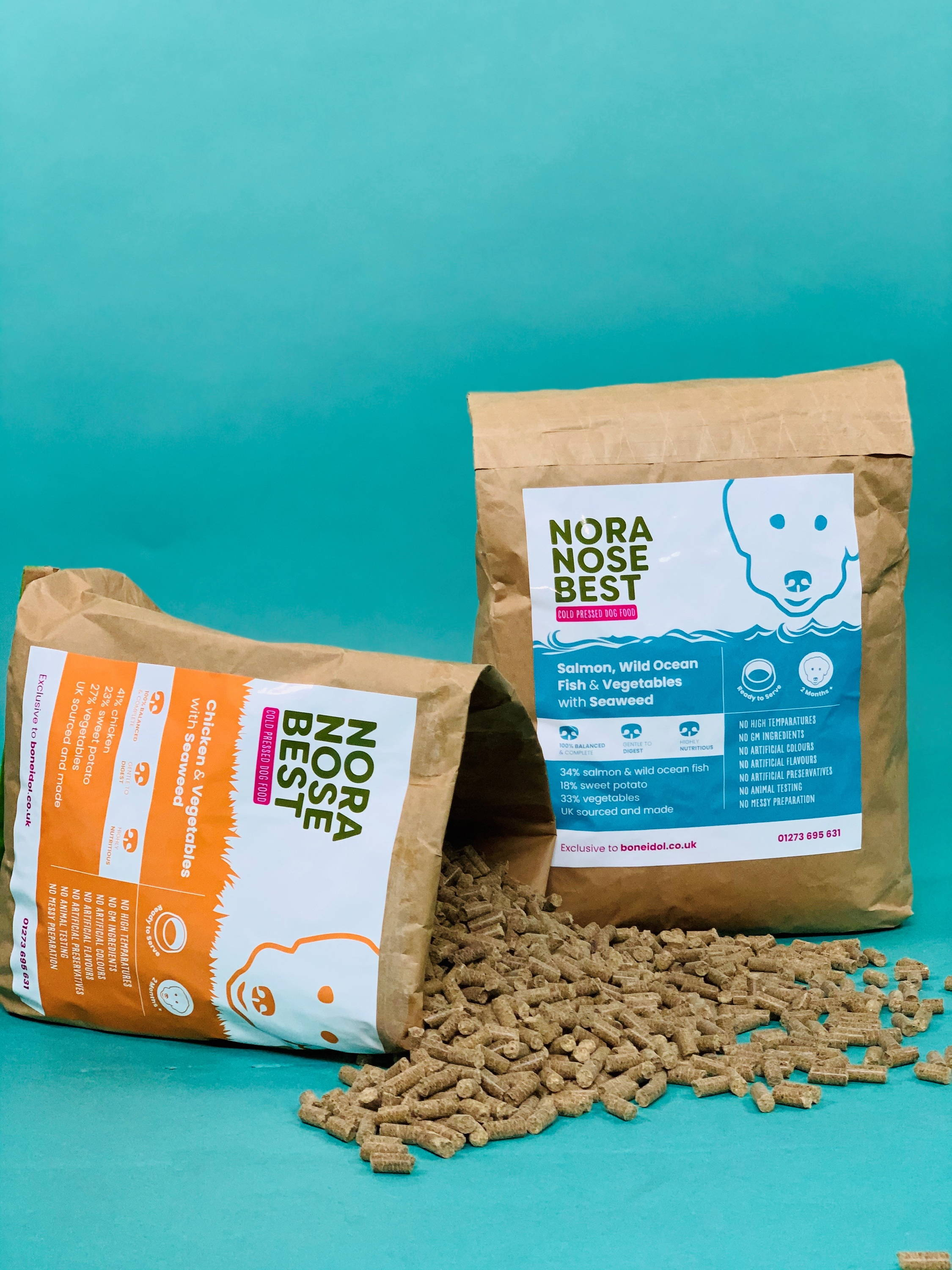 Nora Nose Best Cold Pressed Dog Food, Nora Nose Best Dog Food, Nora Nose Best Dog Food, Healthy dog food, Grain Free Dog Food, Salmon, Fish, Chicken, Healthy Dog Food