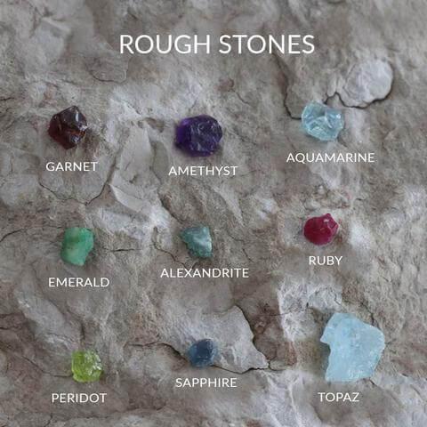 Rough Cut Stones