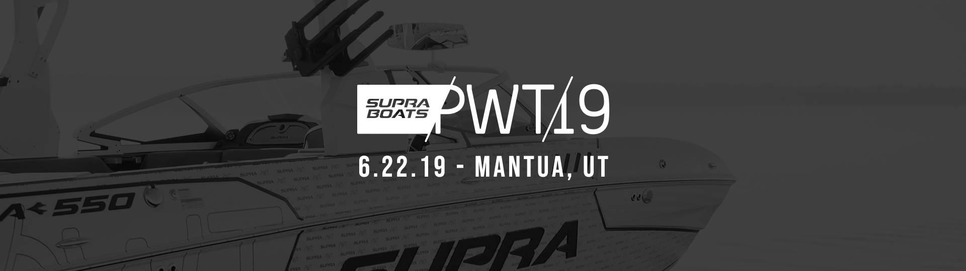 2019 Supra Boats Pro Wake Tour