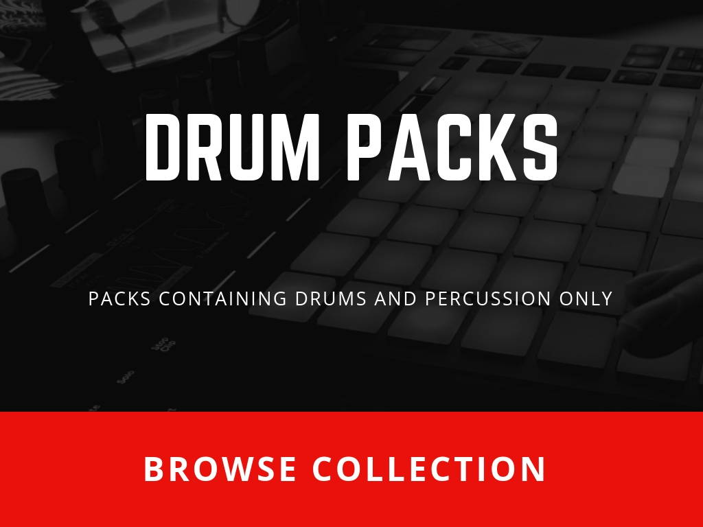 All SoundOracle Sound Packs containting Drums and Percussions only