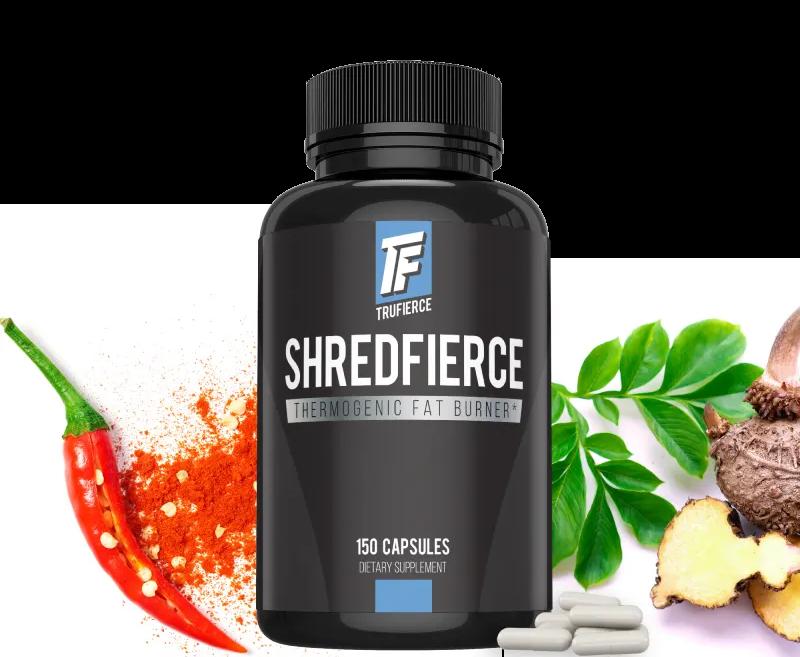 shredfierce fat burner formula by trufierce