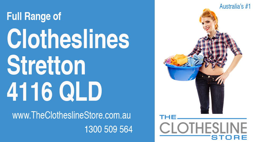 New Clotheslines in Stretton Queensland 4116