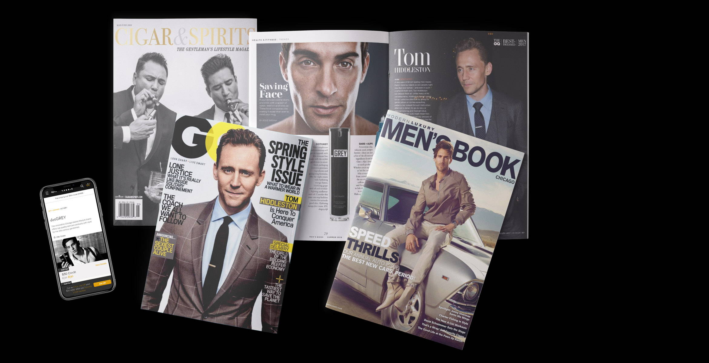 dotGREY Men's Skincare in the press