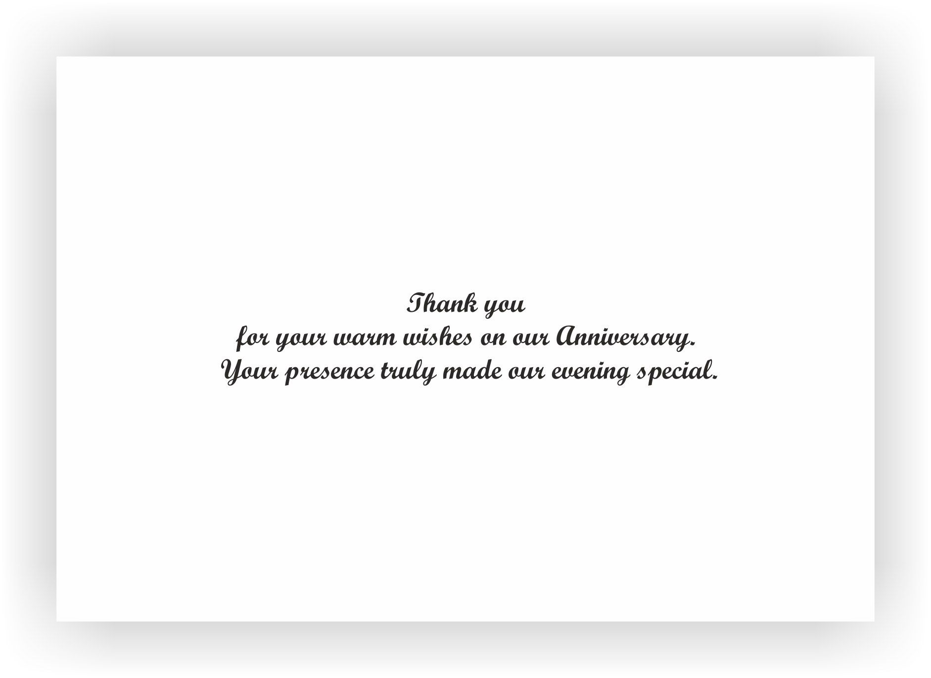 What Gift Do You Give For 25th Wedding Anniversary: Wedding Anniversary Return Gift Wording