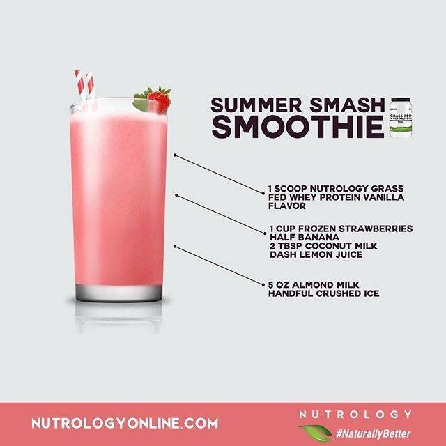 Nutrology Summer Smash Smoothie Recipe