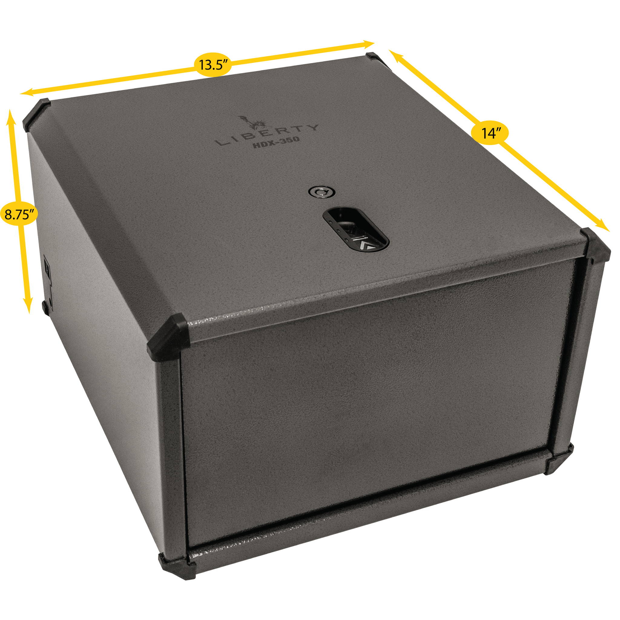 Liberty Safe HDX-350 biometric smart vault