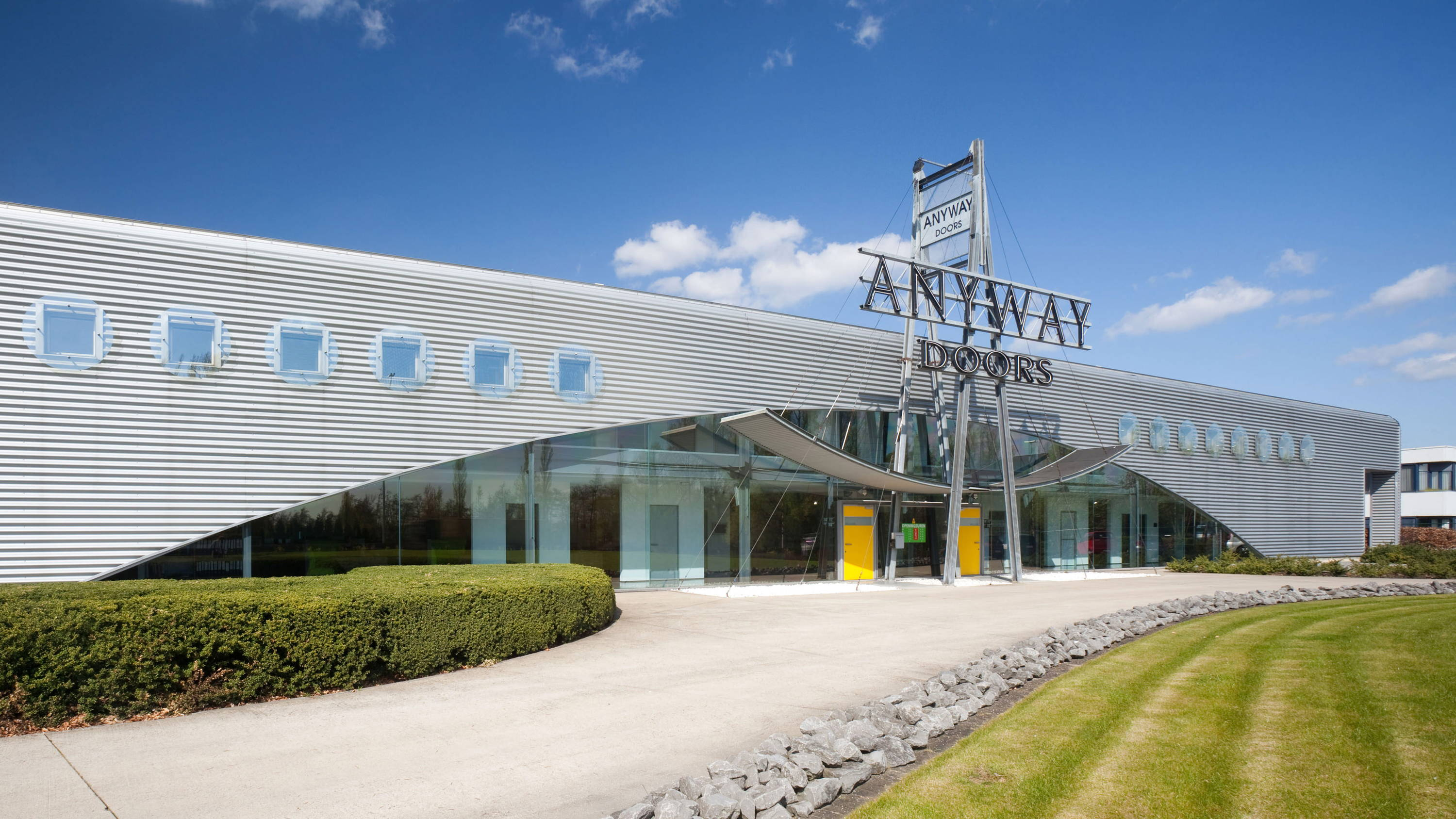 Anyway Doors Flagship Store and production