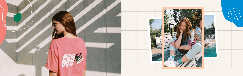 GUESS originals summer clothing collection desktop slider 9