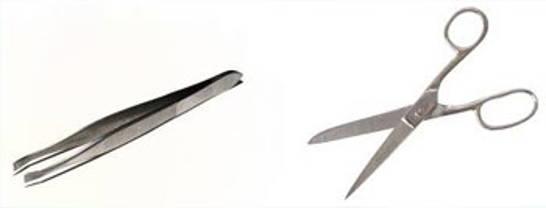 pince ciseaux nail art