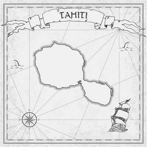 Tahiti Map