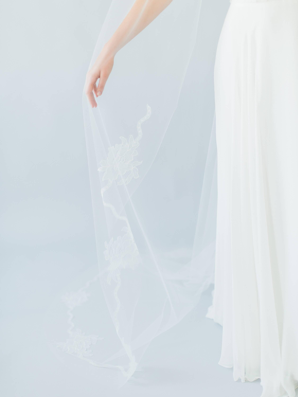 Ampersand Bridal Laurel Veil
