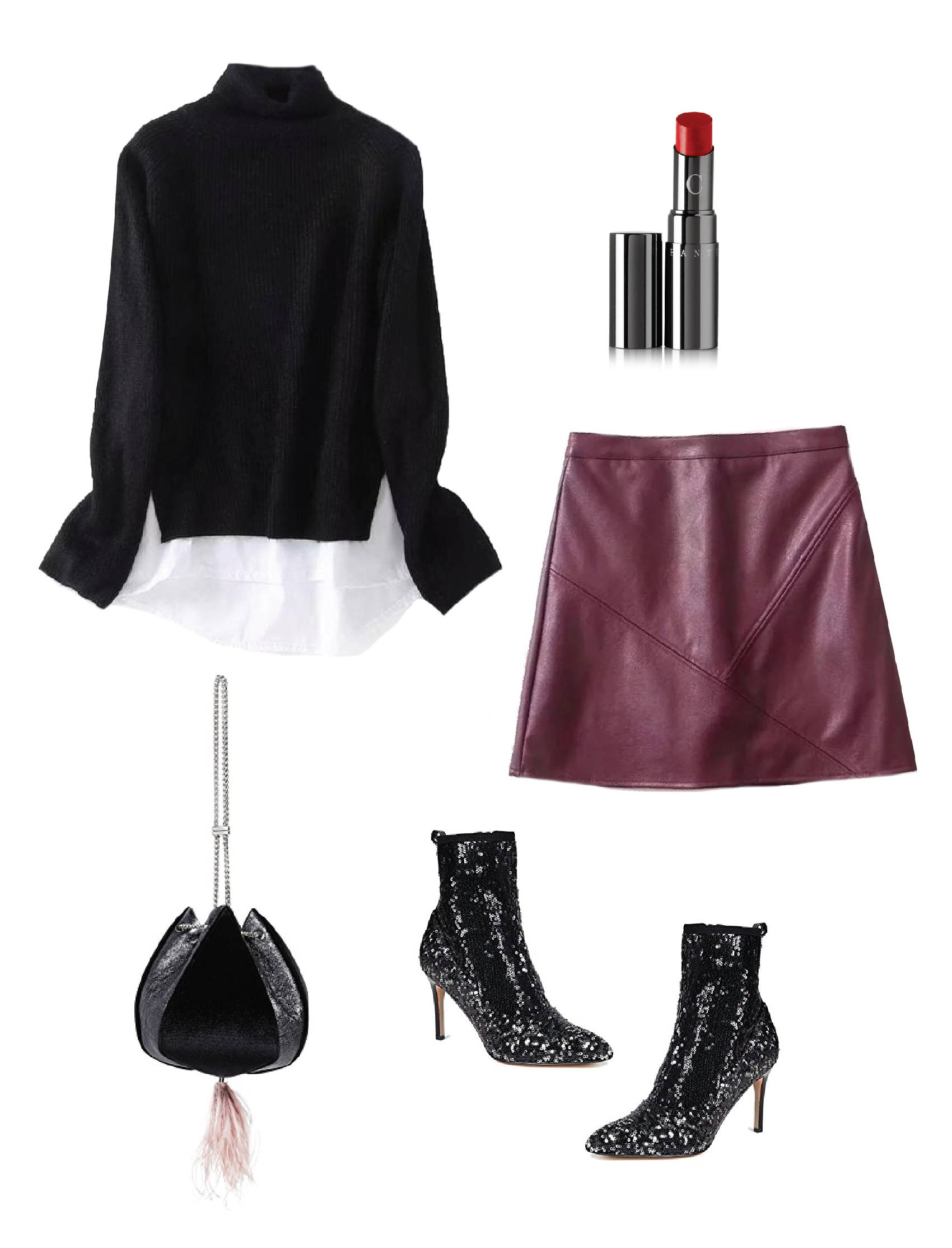 66170187cfe2 Christmas Party Outfit Ideas by Kristy F.