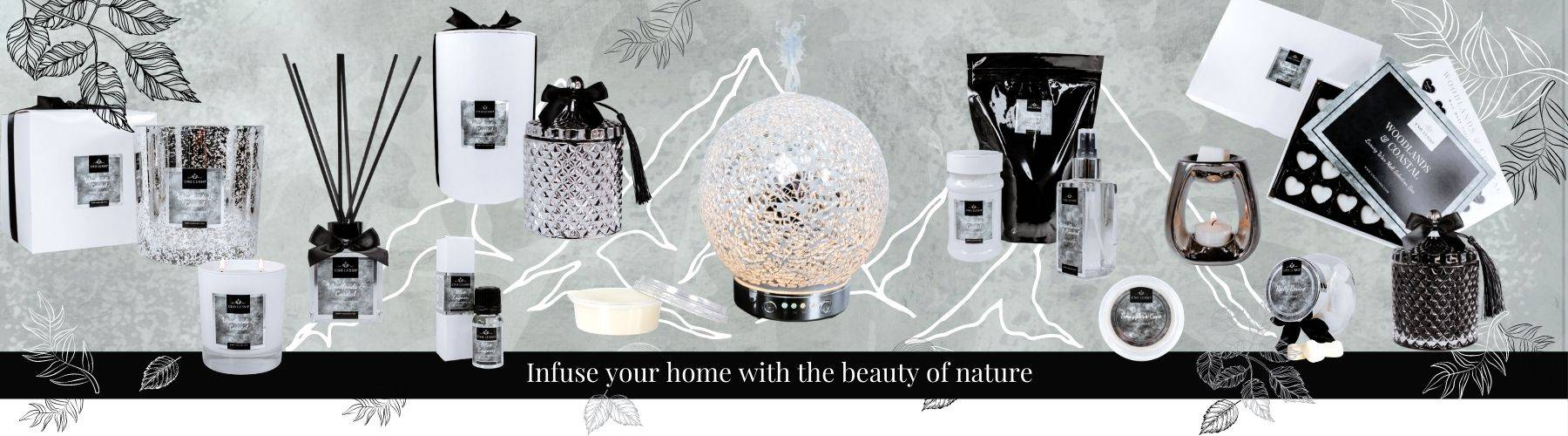 Woodlands & Coastal Luxury Home Fragrance Collection