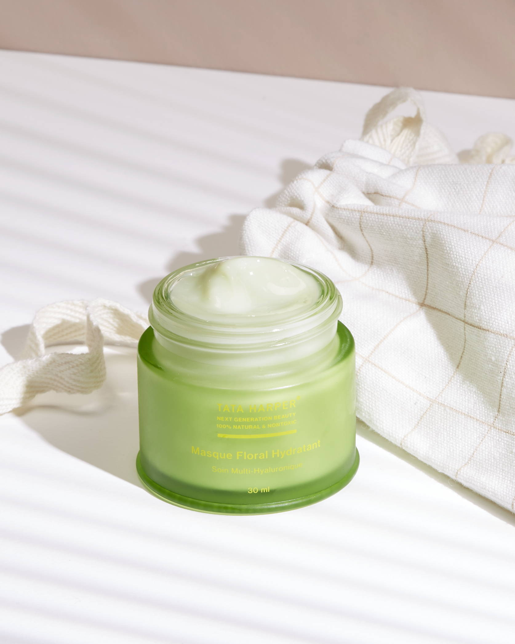 Hydrating Floral Mask de Tata Harper: texture en gelée épaisse