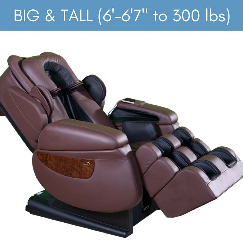 Big & Tall Collection Massage Chairs