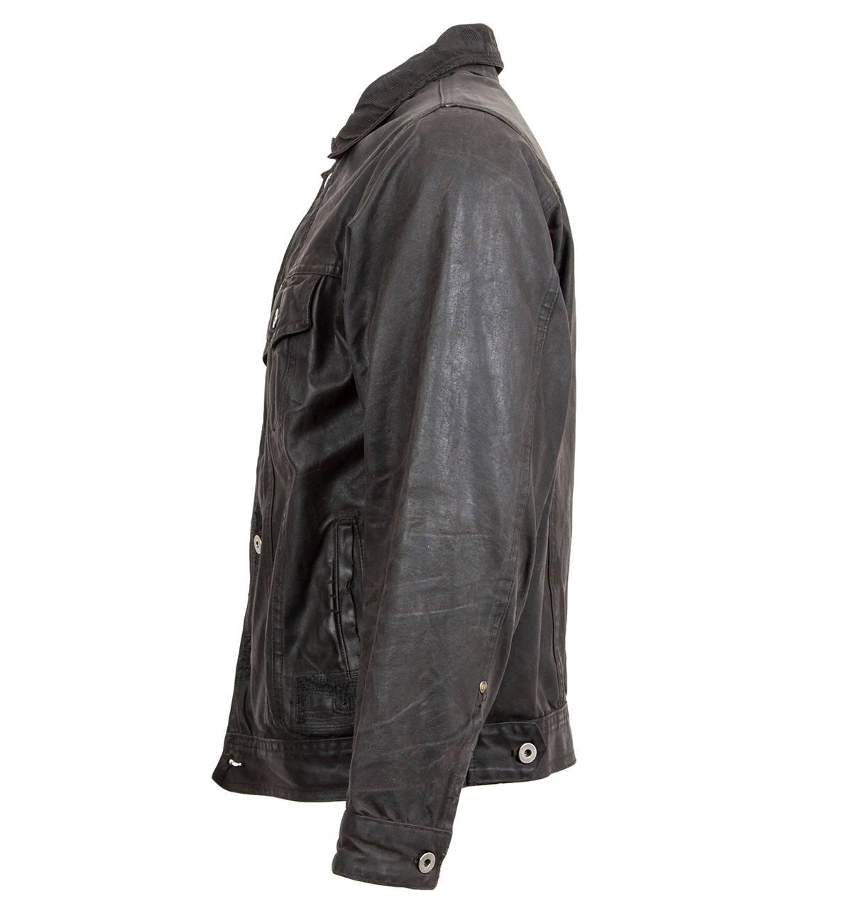Iron & Resin Rambler Jacket Weathered & Worn Repaired Leftside