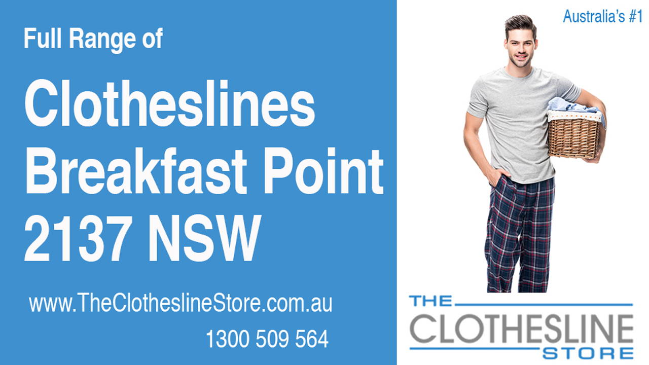 Clotheslines Breakfast Point 2137 NSW