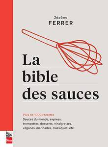 bible des sauces jerome ferrer