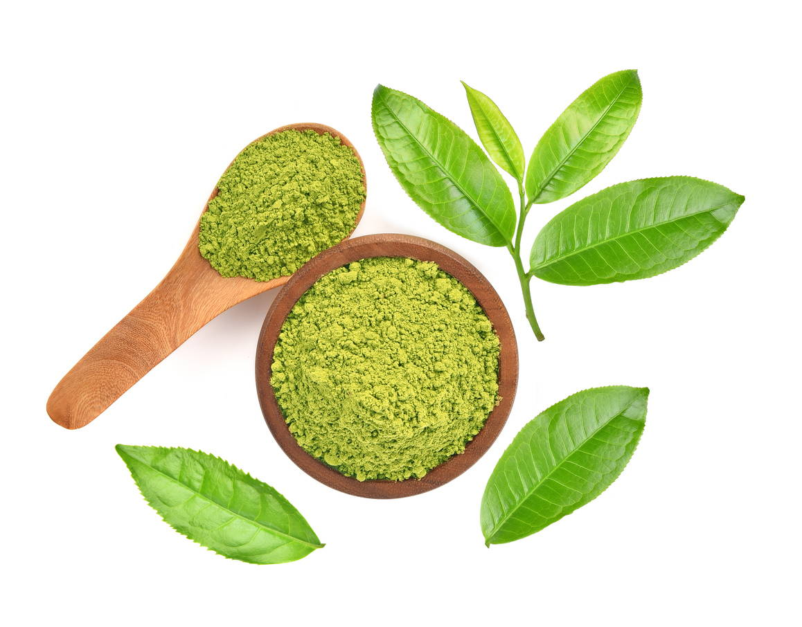 green tea leaf extract in pre-workout