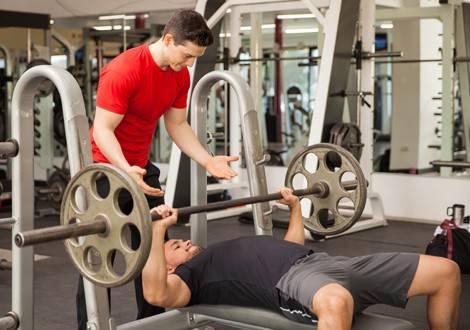 Abnehmen und Muskeln aufbauen.