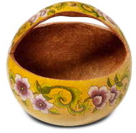 Gorgeous gourd basket by Christy Barajas