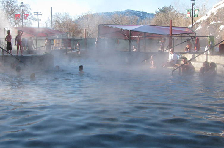 Lava Hot Springs Mineral Pools