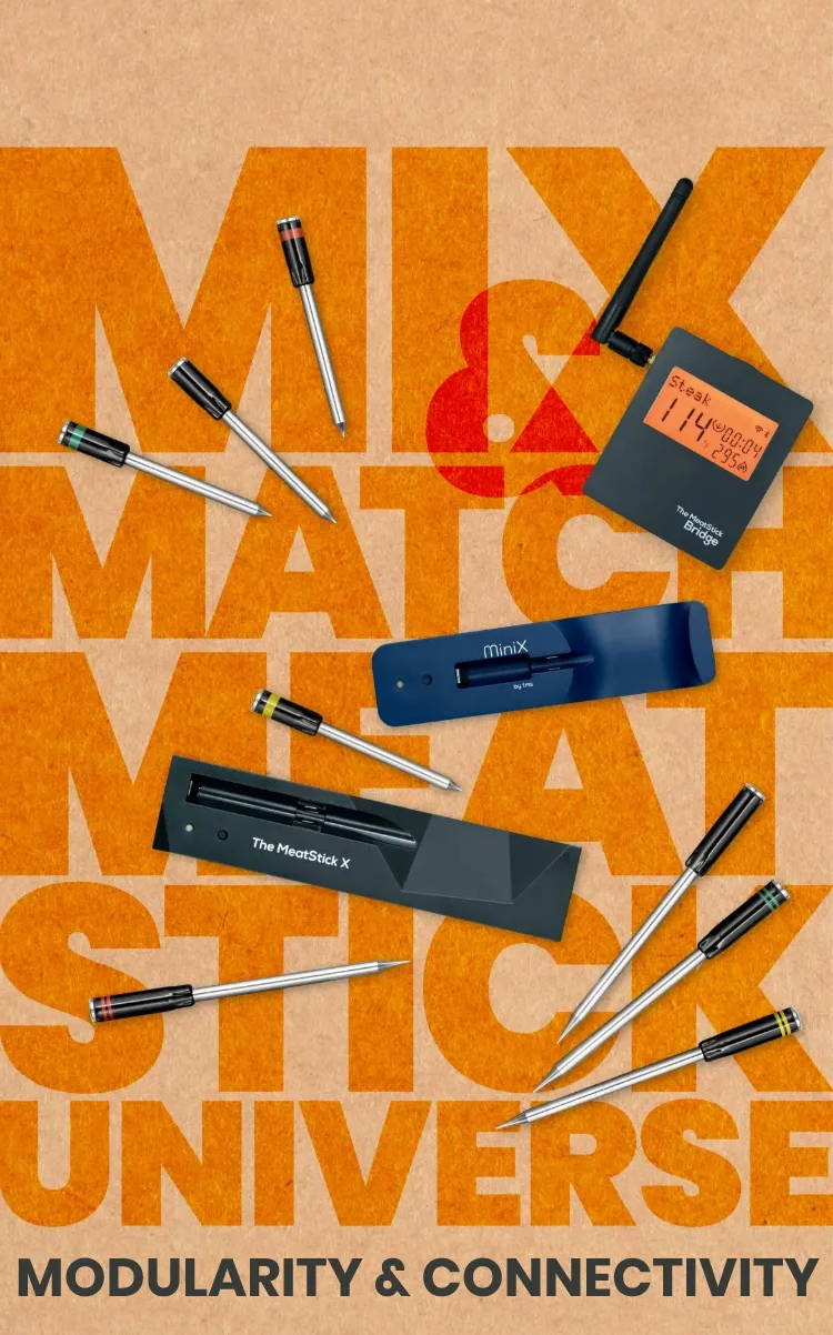 Mix & Match MeatStick Universe