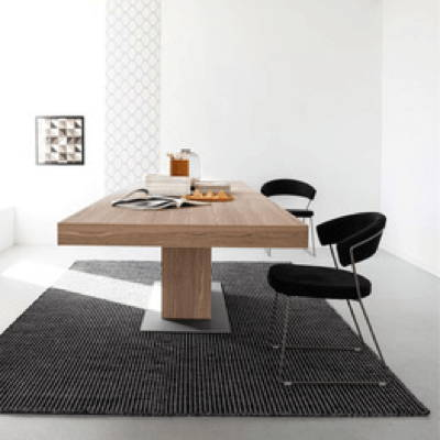 Dining tables including extendable kitchen tables