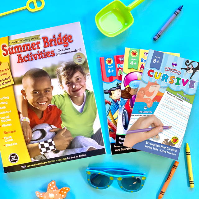 Summer Bridge Activities books and educational supplies for summer learning at home