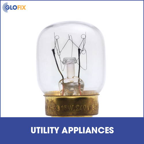 Utility appliance light bulb collection