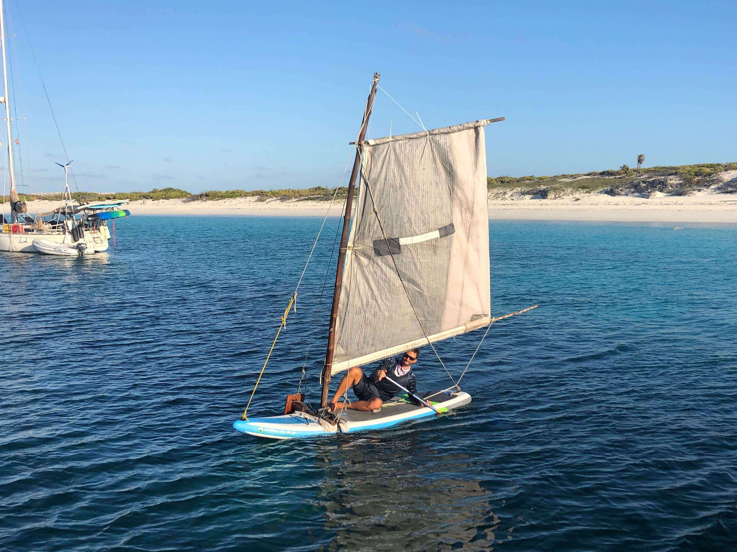 Sailboat Anchor Scrunchie