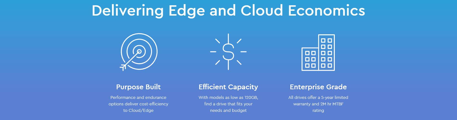 Delivering Edge and Cloud Economics