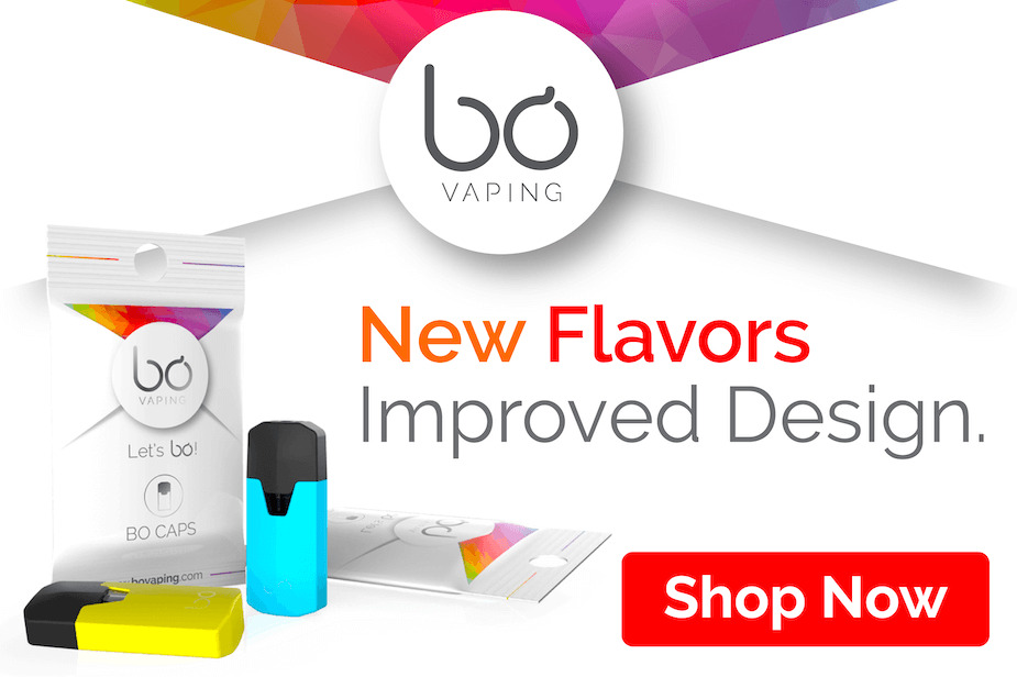 Bo Vape Pods and Bo Vape Starter Kits - Pod Systems - Banner