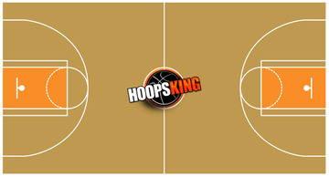 Basketball Court Diagram Green 2
