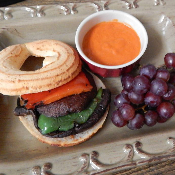 Bagelinos Southwest Vegetarian Lunch