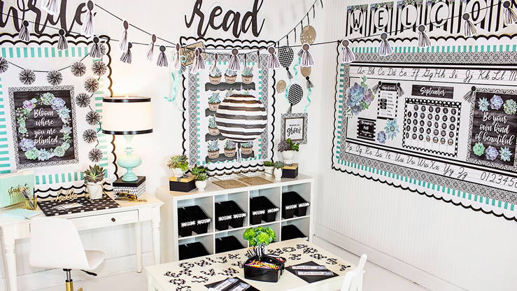 Your Simply Stylish Classroom Theme | Schoolgirl Style