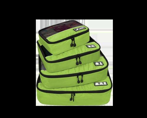 MIOMU Set de 4 Bolsas Organizadoras para Viaje
